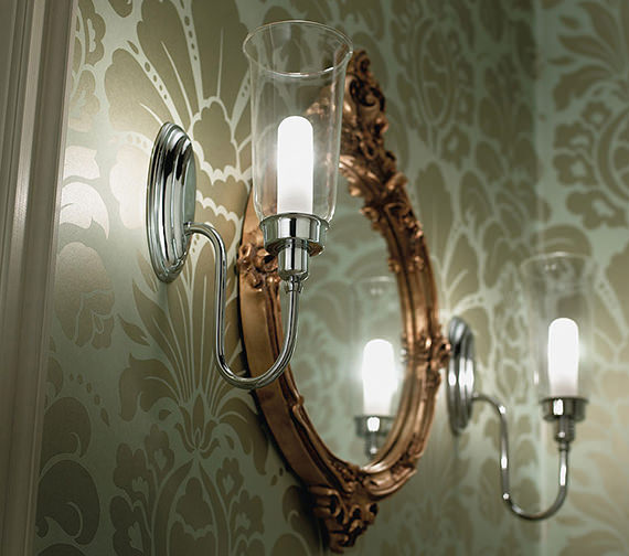 Imperial Avila Wall Light With Glass Shade - XLP1000400