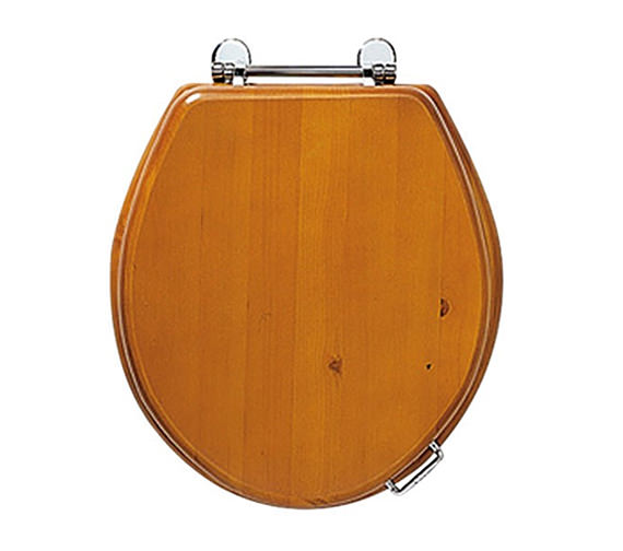 Imperial Oval Toilet Seat With Standard Hinge - Natural Oak