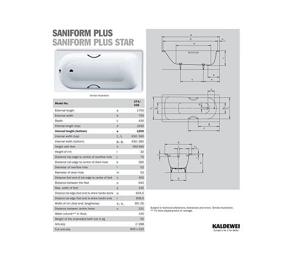 Technical drawing QS-V40784 / 112200010001