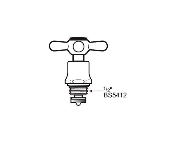Technical drawing QS-V40829 / VIC CONV.KIT