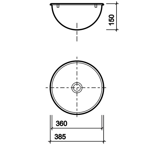 Technical drawing QS-V40859 / PS8503SS