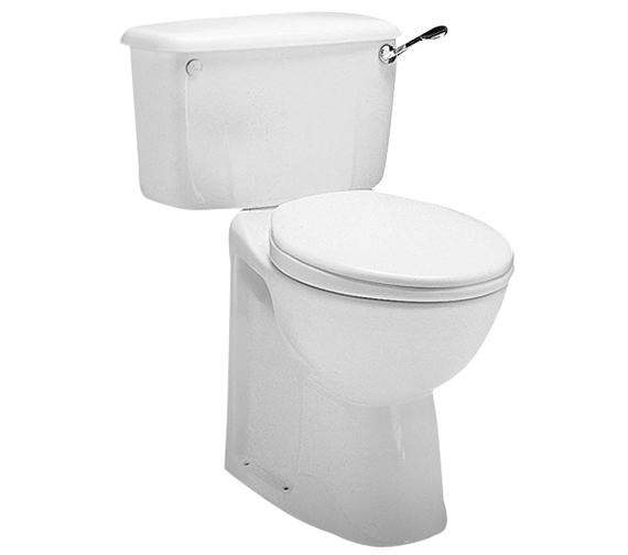 Twyford Avalon Close Coupled WC Pan 750mm - AV1168WH