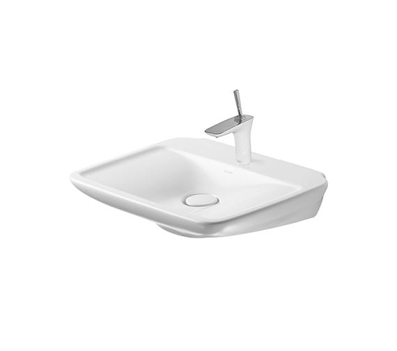 duravit puravida 600 x 465mm washbasin 2700600000. Black Bedroom Furniture Sets. Home Design Ideas