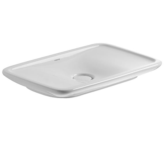 Duravit PuraVida 700 x 420mm Ground Wash Bowl