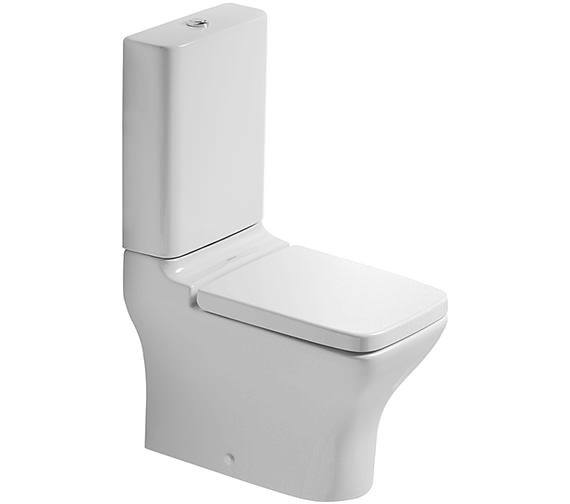 puravida closed coupled toilet cistern seat 360mm 2119090064. Black Bedroom Furniture Sets. Home Design Ideas