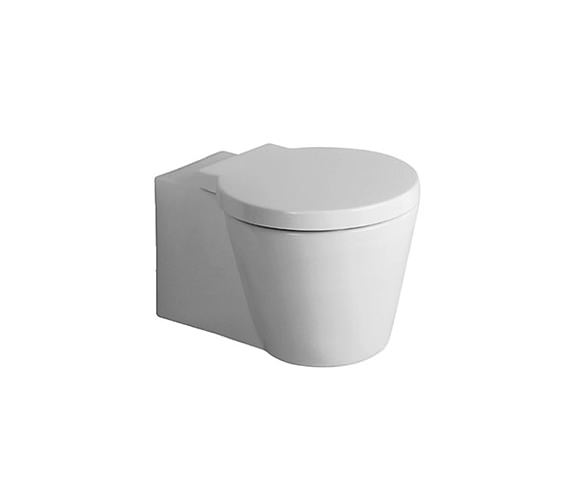 Duravit Starck 1 Wall Mounted Toilet With Seat And Cover - 0210090064