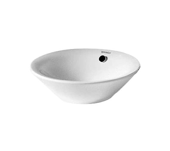 Duravit Starck 1 530mm Washbowl With Overflow - 0408530000