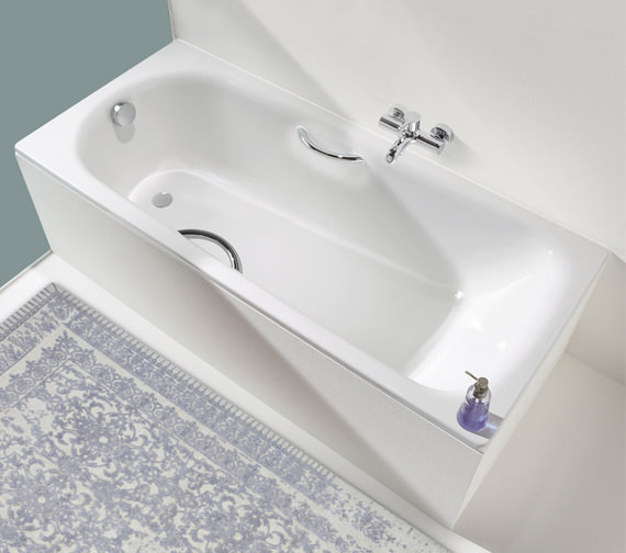 Kaldewei Saniform 1800 x 800mm Plus Star 337 Steel Bath With Grip Holes