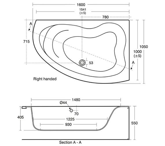 Technical drawing QS-V41021 / E317601
