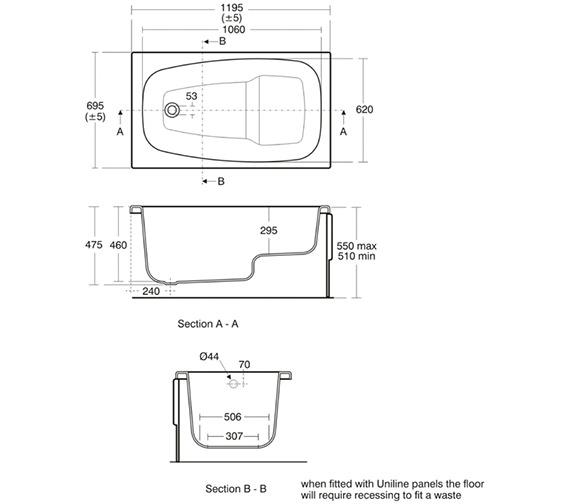 Technical drawing QS-V41024 / E728401