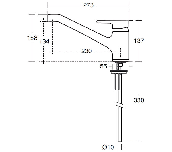 Technical drawing QS-V41030 / B8079AA