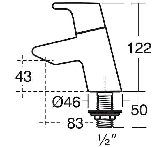 Technical drawing QS-V41036 / B8074AA