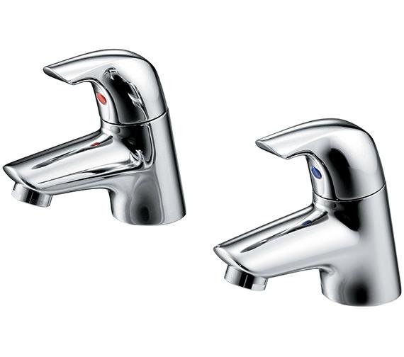 Ideal Standard Ceraplan SL Pair Of Bath Pillar Taps - B7885AA