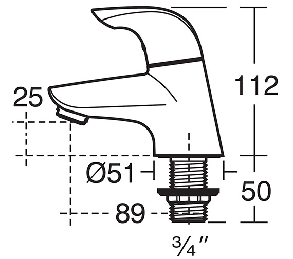 Technical drawing QS-V41040 / B7885AA