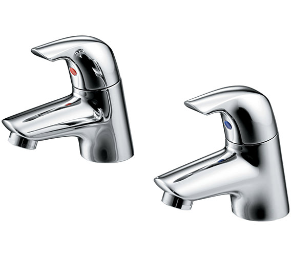 Ideal Standard Ceraplan SL Pair Of Basin Pillar Taps - B7884AA