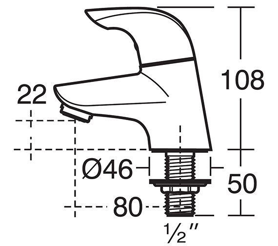 Technical drawing QS-V41045 / B7884AA