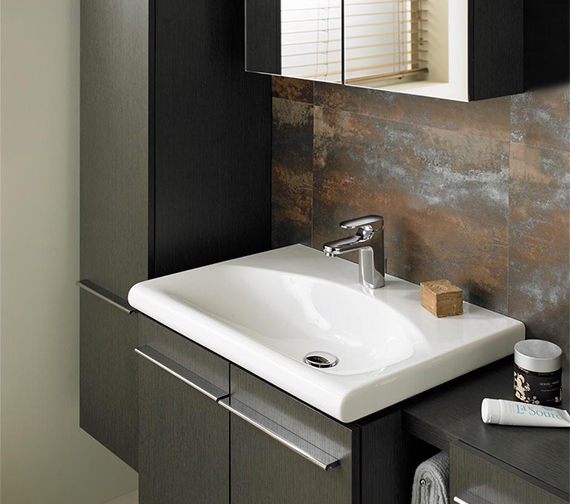 Additional image of Moments Single Lever One Tap hole Basin Mixer Tap - A3903AA