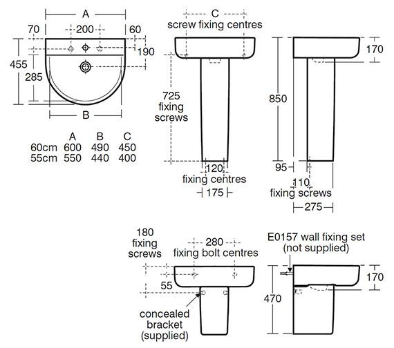 Technical drawing QS-V41060 / E787201