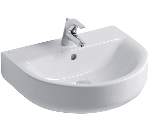 Ideal Standard Concept Arc 55cm 1 Tap Hole Basin - E785201