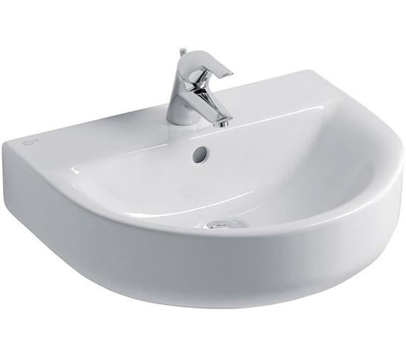 Ideal Standard Concept Arc 55cm 1 Tap Hole Basin - E785201