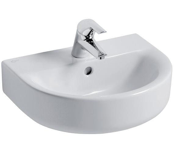 Ideal Standard Concept Arc 450mm 1 Tap Hole Handrinse Basin