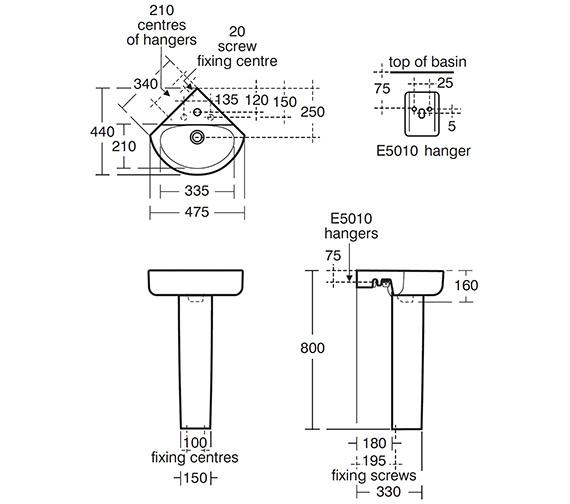 Technical drawing QS-V41064 / E792801