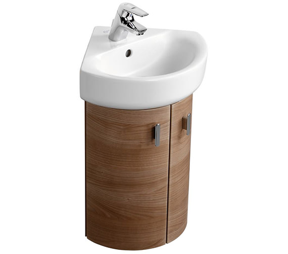 Additional image of Ideal Standard Concept Arc 45cm 1 TH Corner Handrinse Basin - E792801