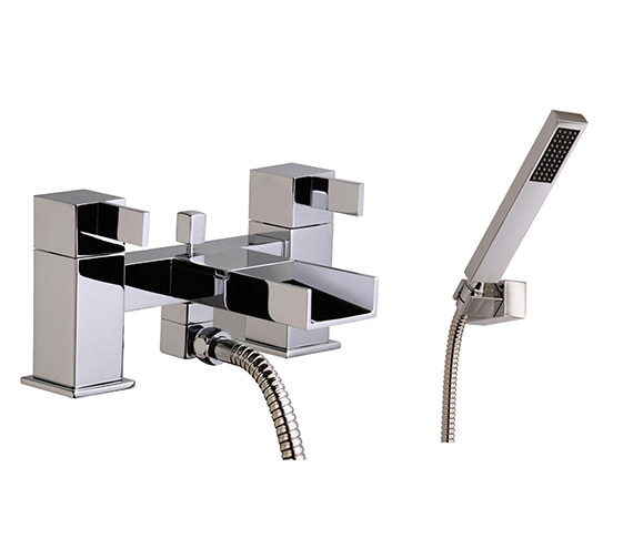 Mayfair Dream Waterfall Bath Shower Mixer Tap With Shower Kit - DRM007