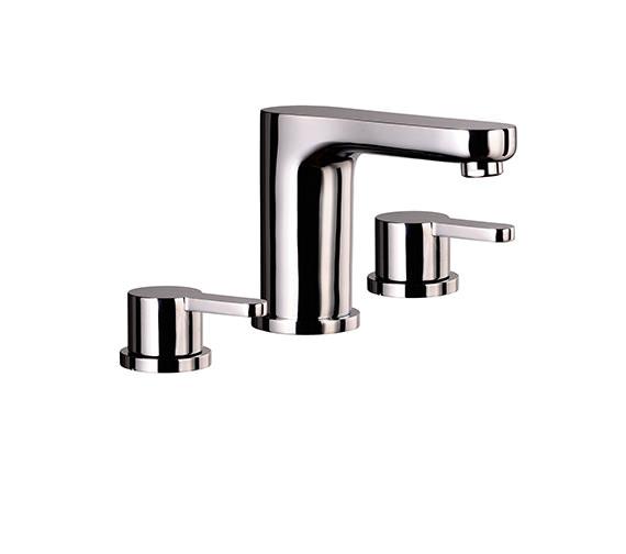 Mayfair Eion 3 Hole Bath Filler Tap Set Chrome - EIO045