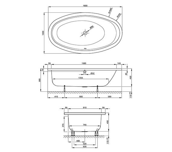 Technical drawing QS-V41148 / 8994 CFXXK