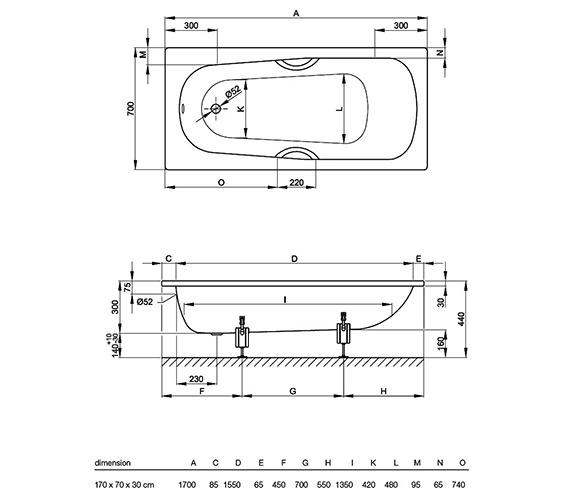 Technical drawing QS-V41163 / 3880 000