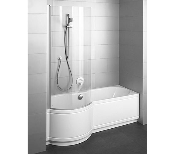 Bette Cora Comfort Shower Bath 1700 x 900mm - Niche Installation
