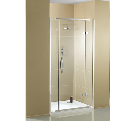 Aquadart inline recess hinged shower door 1000mm aq1012 for 1000mm shower door