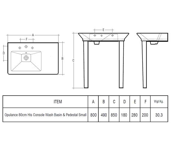 Technical drawing QS-V41240 / OPU80BASM/CC