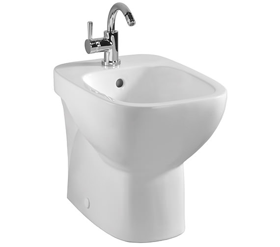 Twyford Moda Back To Wall Bidet 600mm - MD3111WH
