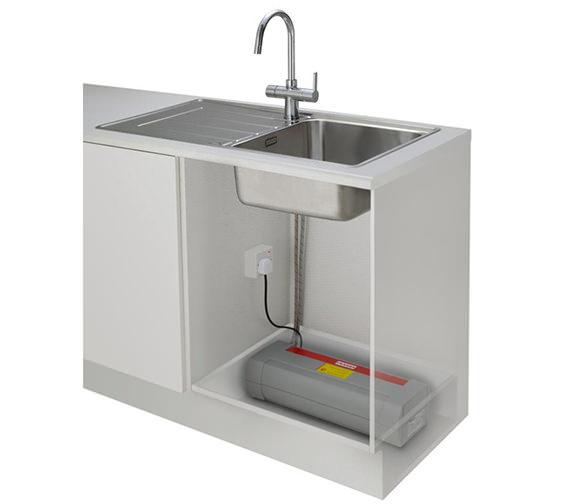 Alternate image of Franke Minerva 3-In-1 Kettle Kitchen Sink Mixer Tap Chrome