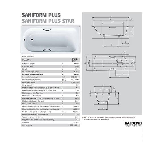 Technical drawing QS-V41272 / 112500010001