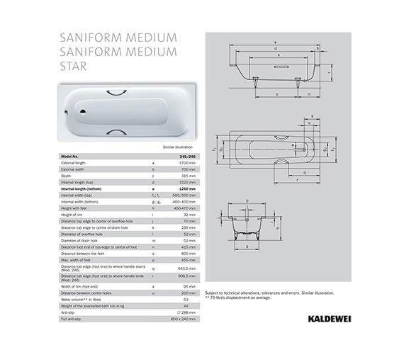 Technical drawing QS-V41275 / 220300010001