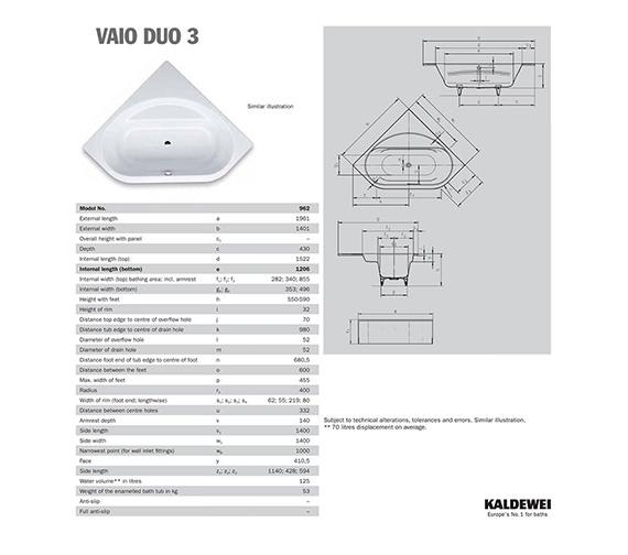 Technical drawing QS-V41283 / 234200010001