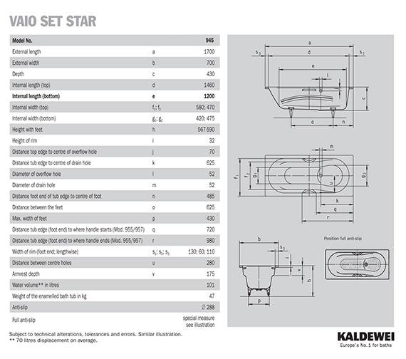 Technical drawing QS-V41284 / 234500010001