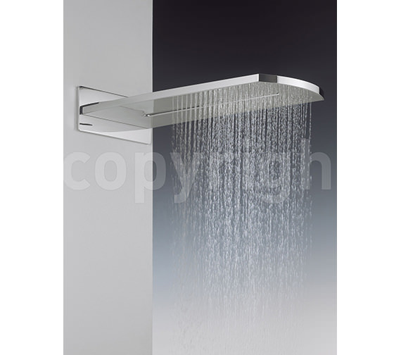 Crosswater Elite Rectangular Fixed Overhead Shower - FH2000UC