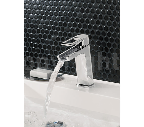 Crosswater Shoot Mini Monobloc Basin Mixer Tap - SM114DNC