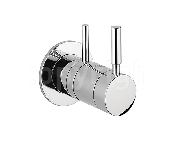 Crosswater Design Recessed Thermostatic Shower Valve - DE0010RC