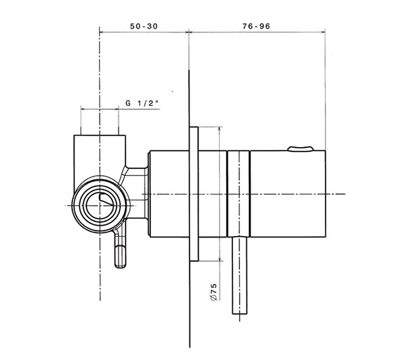 Technical drawing QS-V41356 / KL0010RC