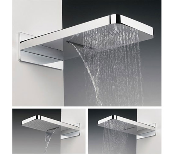 Crosswater Revive Waterfall Fixed Shower Head - FH2000C