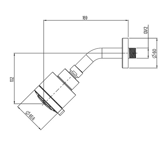 Technical drawing QS-V41385 / FH632C