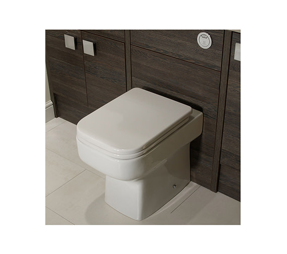 Roper Rhodes Geo Back To Wall WC Pan 505mm - GBWPAN