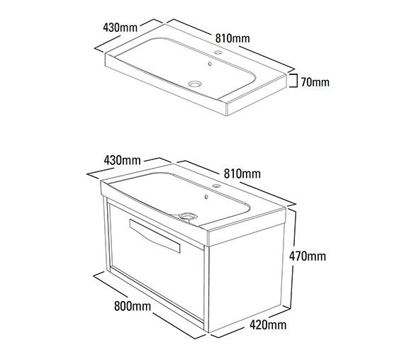 Technical drawing QS-V41700 / BRE800GRE