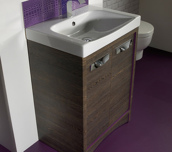 Additional image of Roper Rhodes Breathe 610mm Wide 1 Tap Hole Basin