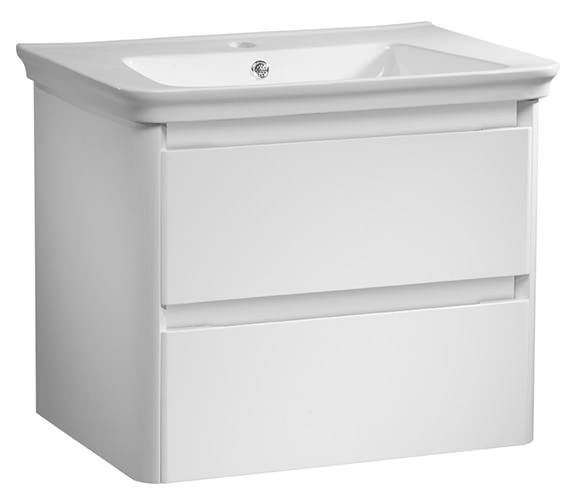 Tavistock Equate 700mm White Wall Mounted Unit And Ceramic Basin